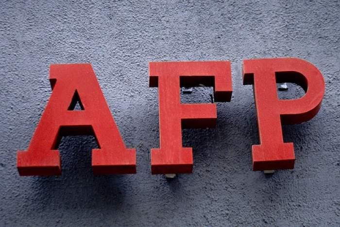 AFP Logo en rojo