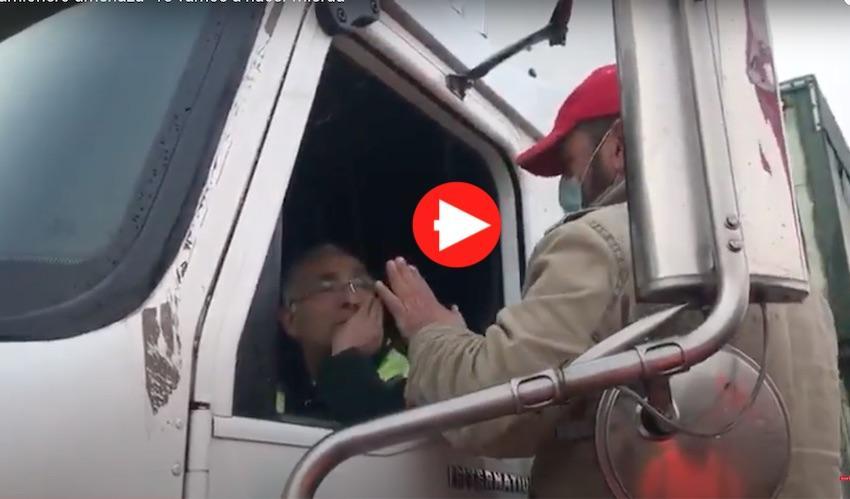 Camionero Amenaza