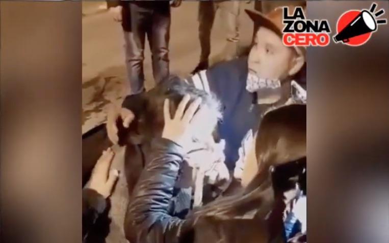 Hombre daño ocular en Peñalolén