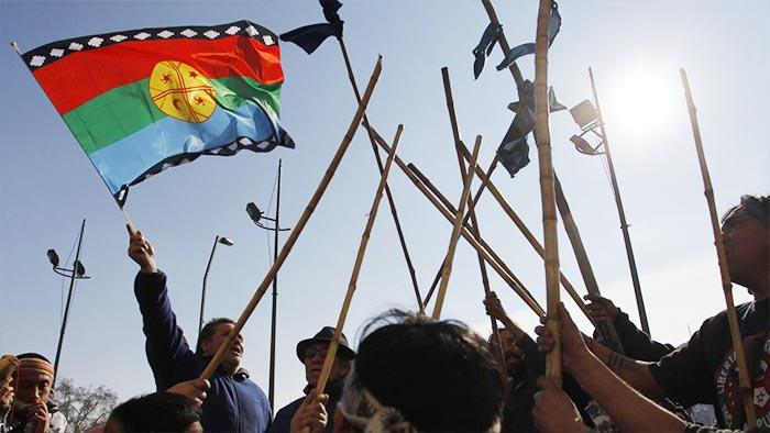 Mapuche huelga seca