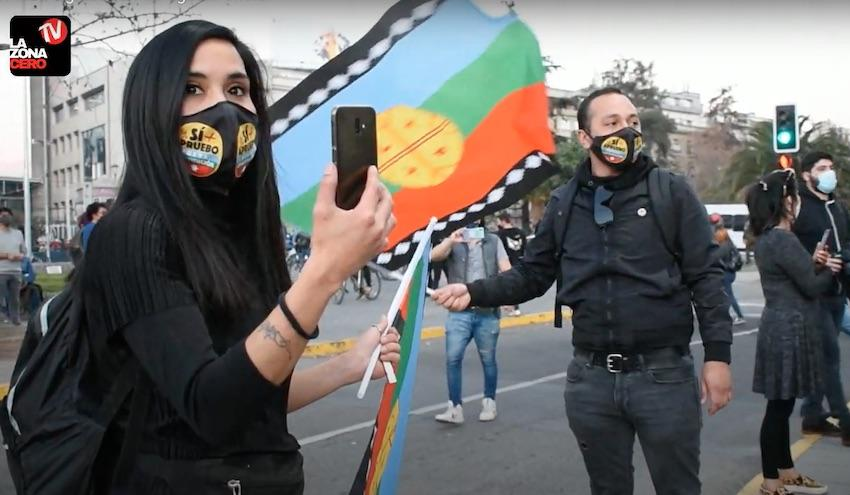 Plaza Dignidad manifestación