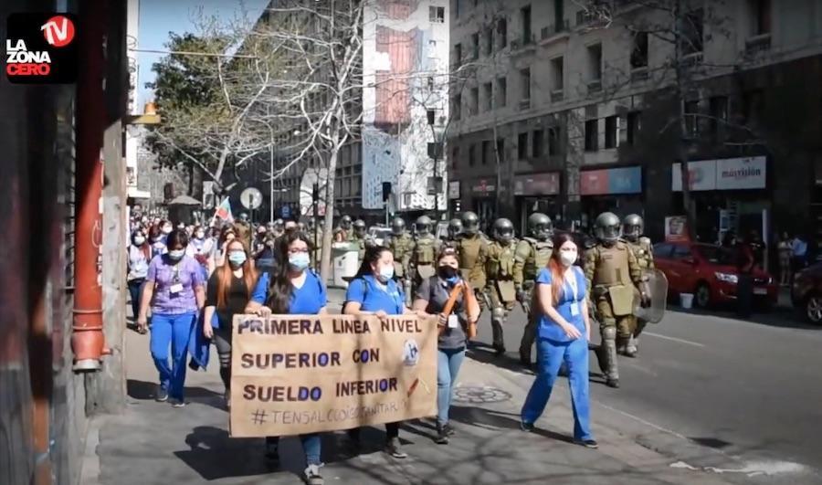 Manifestación Tens