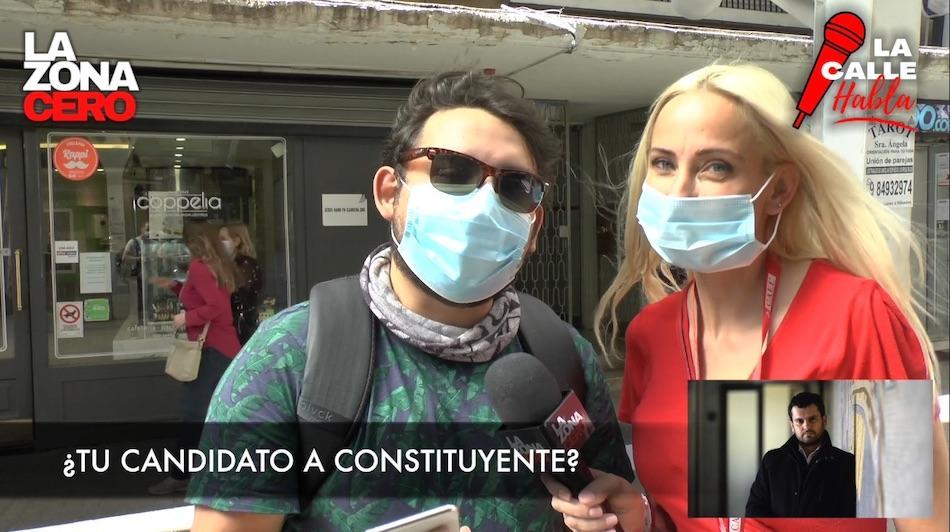 La calle habla, que cambiarían los chilenos en la Constitución.