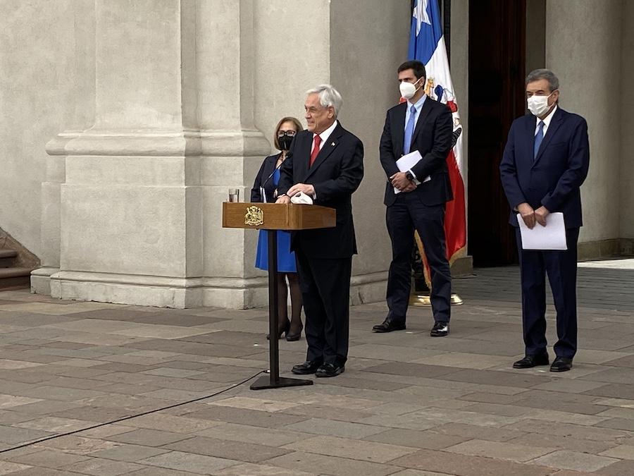 Piñera se refiere a lo ocurrido en Puente Pio Nono.
