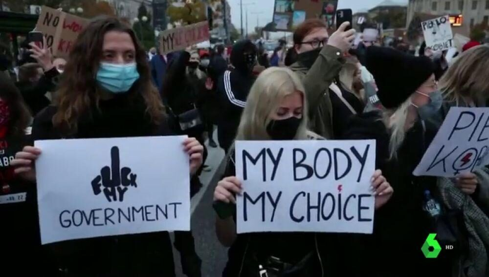 La prohibición del aborto ha dividido a Polonia.