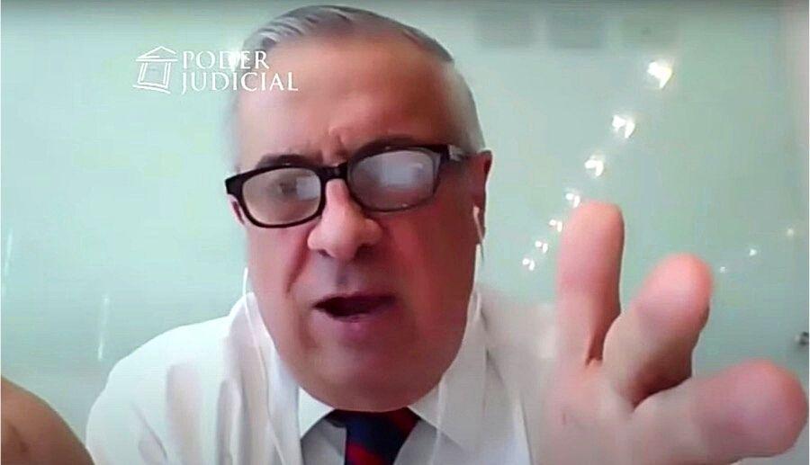 Video Mañalich declarando