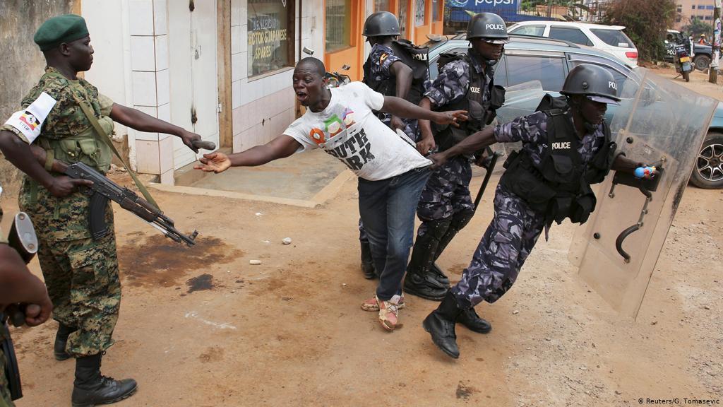 Protestas Uganda