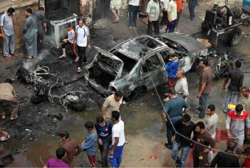Doble atentado en Bagdad dejó este jueves 32 muertos y 110 heridos