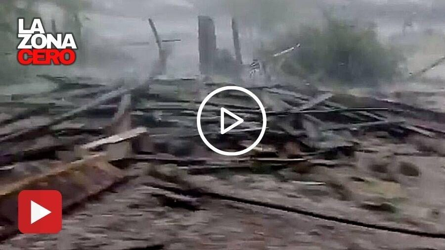 (VIDEO) Impactante aluvión en Malloa, luego de lluvias en la zona central de Chile.