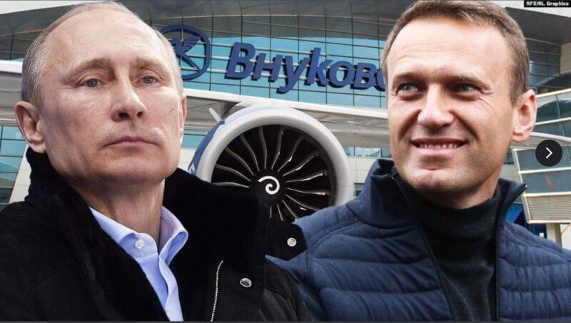El famoso líder de la oposición Alexei Navalny, que descubrió el palacio de Putin, fue arrestado en Rusia