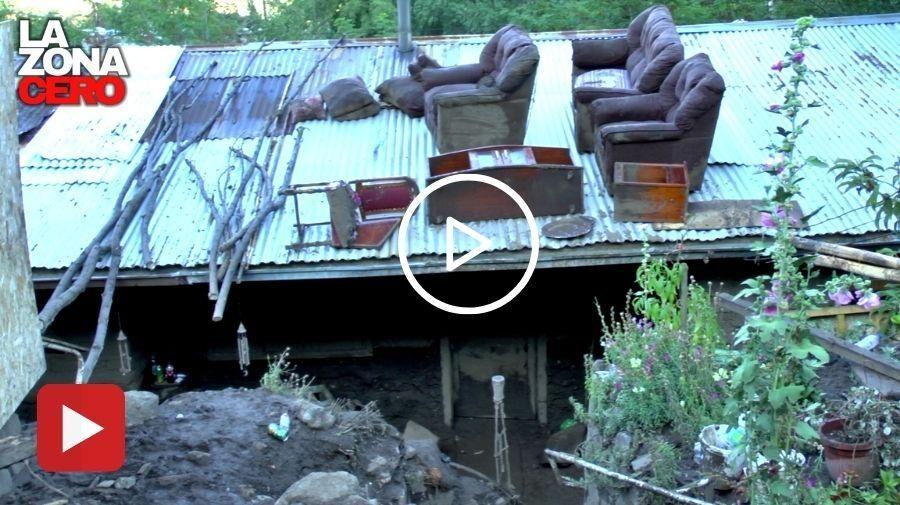 (VIDEO) Aluvión en el Cajón del Maipo