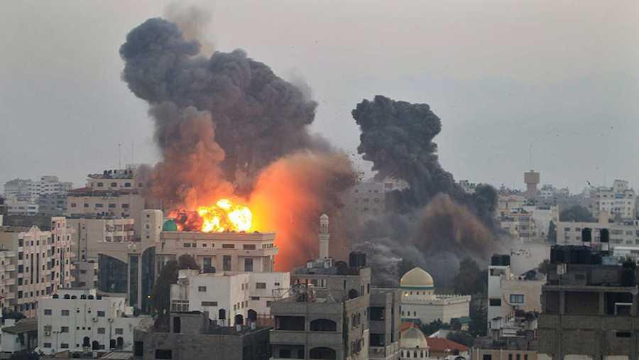 bombardeos en israel