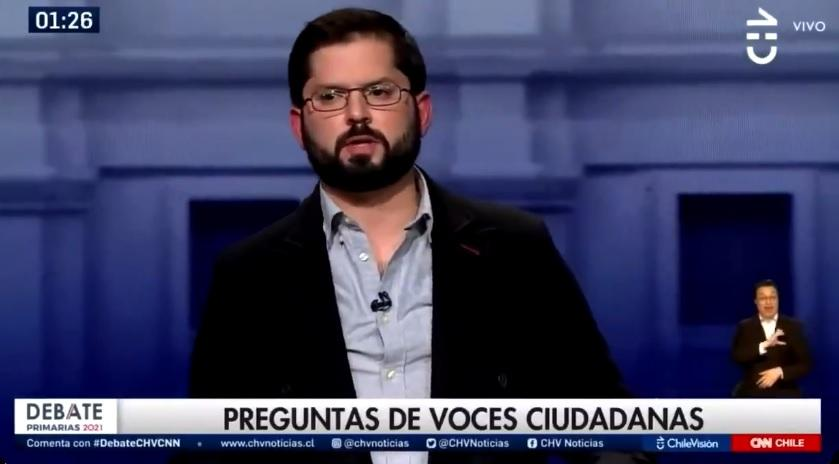 "[VIDEO] ""Señor Piñera, está avisado"": Boric a Piñera, los vamos a perseguir nacional e internacionalmente."