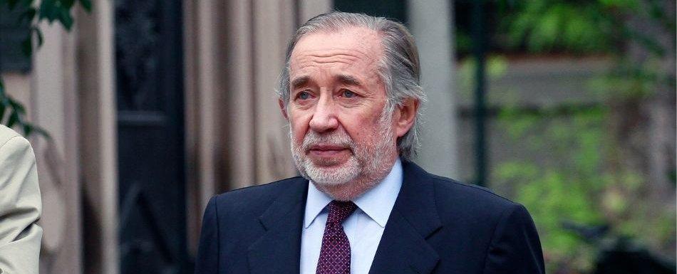 Murió Jovino Novoa, fundador de la UDI y condenado en el caso Penta.